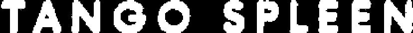 logo tangospleen white